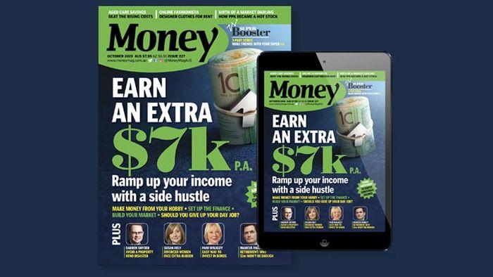 October issue money magazine